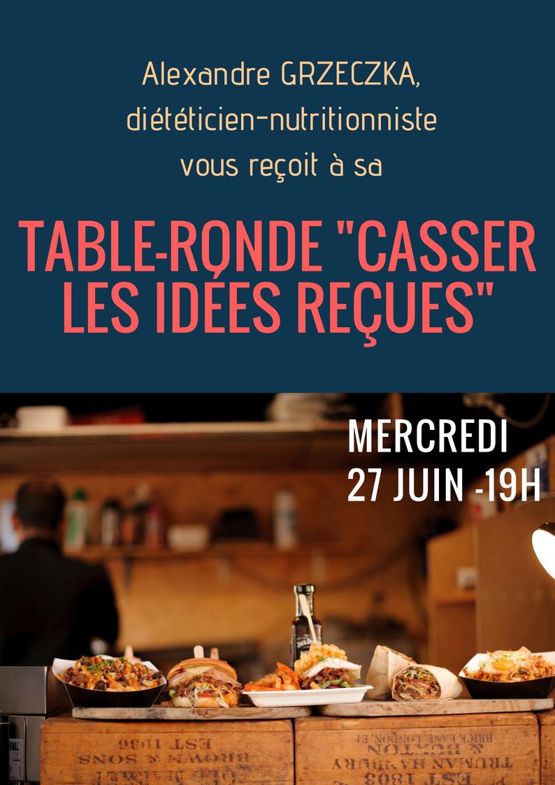 Table-ronde _Casser les Idées Reçues_